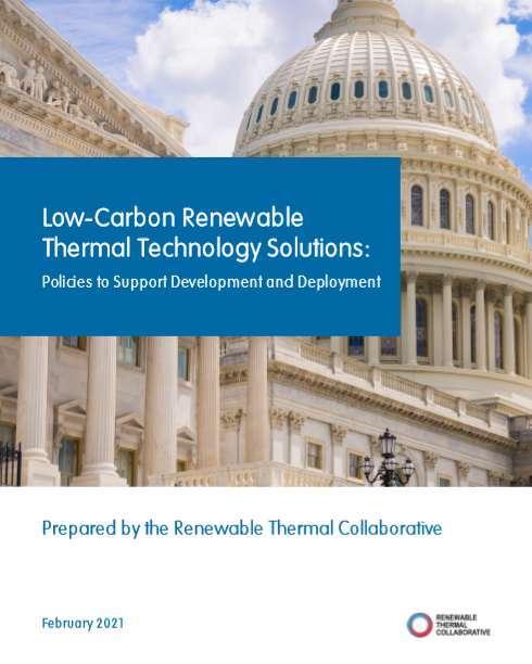 Low Carbon Renewable Thermal