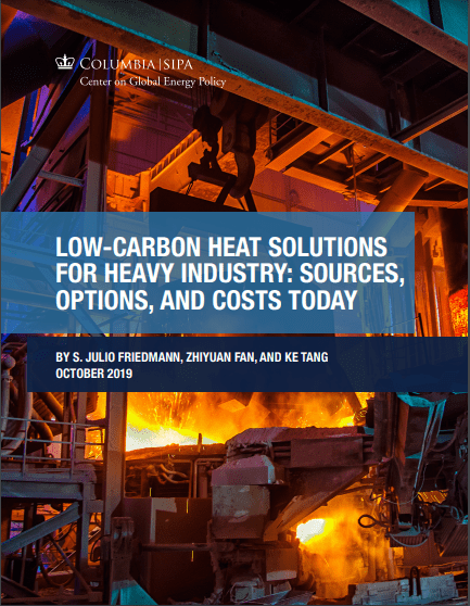 Low carbon heat solutions