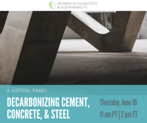 Decarbonizing Cement, Concrete, and Steel